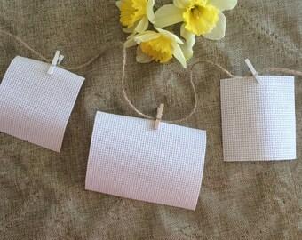 CUSTOM Living Bravely Scripture Cards - Hand-Stitched - Encouragement - Inspiration