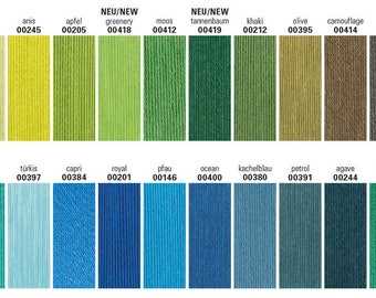 200 g Catania by Schachenmayr, 100% Cotton, all colors in stock