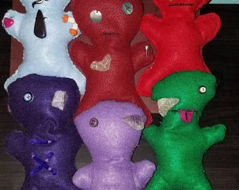 Silly Voodoo Dolls