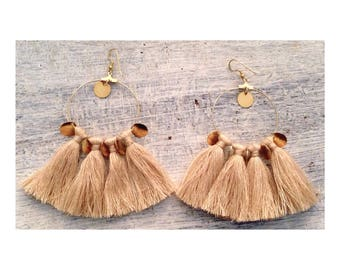 Customizable Pompom earrings