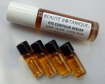 EYE CONTOUR SERUM with Hemp, Celery & Coffee Bean