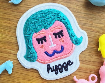 Hygge Iron on Patch