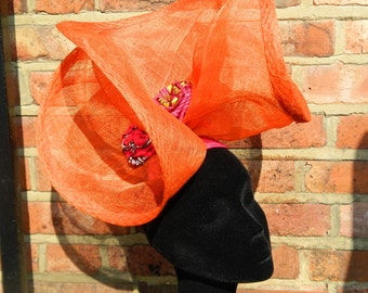 Orange Splash Headpiece