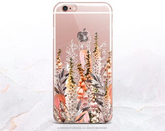 iPhone 8 Case iPhone X Case iPhone 7 Case Lupine Clear GRIP Rubber Case iPhone 7 Plus Clear Case iPhone SE Case Samsung S8 Plus Case 268