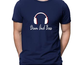 Drum And Bass Headphones T-Shirt