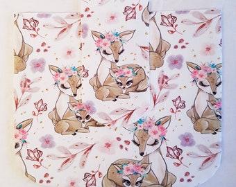Handmade Girls Purse / Girls Purse / Girls Handbag / Deer Coin Purse / Deer Girls Purse / Purses for Girls / Purse / Deer Bag
