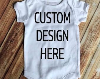 Custom onesies etsy negle Choice Image