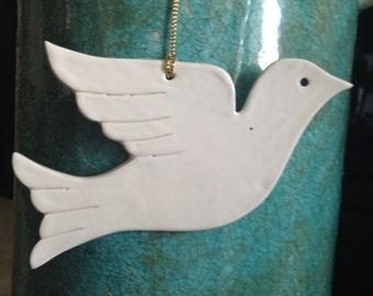 Dove Christmas ornament dove ornament Christmas dove