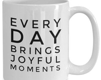 Tasse de café thé de Moments de joie