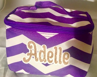 Cosmetic bag personalized, Varsity/JV cheer gifts, cheerleaders, dancers, cheer gift for competitions and travel, team bonding gifts