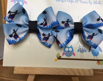 Mary Poppins Hair Bows