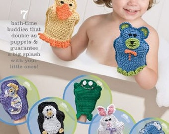 Touchably Textured Baby Afghans Crochet Pattern Booklet Leisure Arts