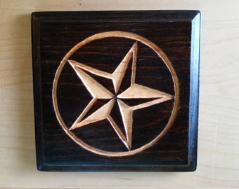 The Lone Star Wall Plaque