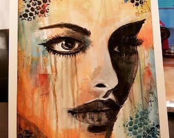 Portrait Colorful Fantasy