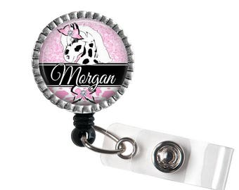 Horse ID Retractable Badge Reel