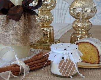 Farmhouse candle: Vanilla Cinnamon