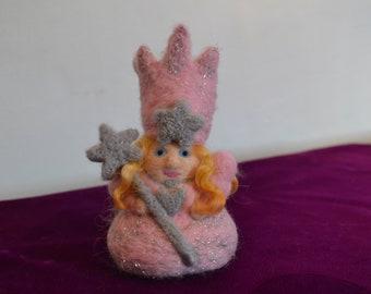 Good Witch Glinda Needle Felt