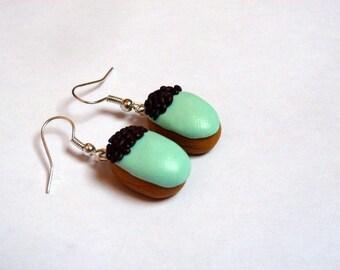 Salambo earrings (mint)