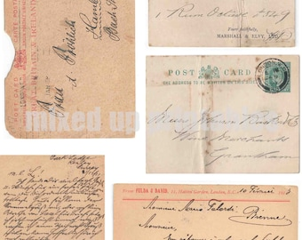 Mixed Up Printables - Old Postcards #1