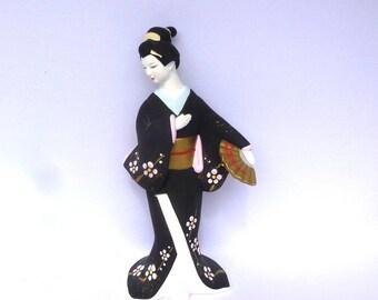 VINTAGE HAKATA Geisha DOLL