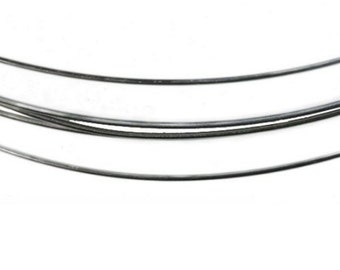 Solder Filled Wire, 925 Sterling Silver, Choice of 18 or 20 gauge