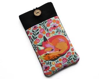 Fox iPhone X Case, iPhone SE Cover, iPhone 8 Plus Case, iPhone 5 Case, iPhone 6s Plus Case, iPhone 7 Plus Sleeve, iPhone 7 Case, Fox