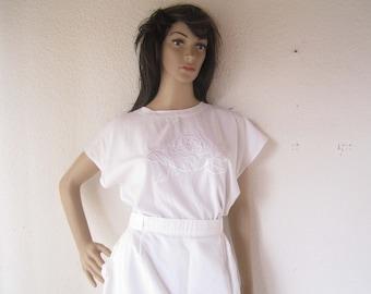 True vintage 80s oversize blouse Blouse