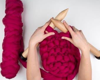 "Size 100 (35mm) Straight  Knitting Needles 40 cm (15,7""),"