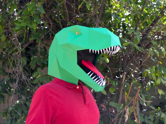 Dinosaur mask make a t rex mask with just paper and glue dinosaur mask make a t rex mask with just paper and glue paper mask diy mask halloween mask dinosaur costume dinosaur party solutioingenieria Choice Image