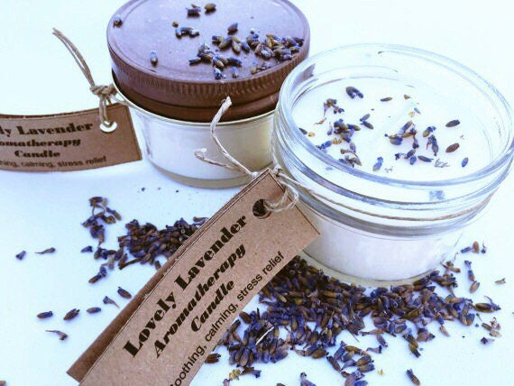 Lavender Soy Candle Candles - Handmade Candles