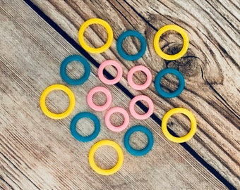 Plastic Stitch Marker, Plastic Ring Markers, Gifts for Knitter, Knitting Tool