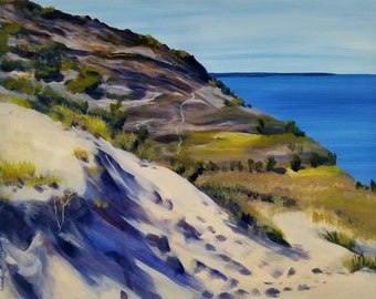 The Empire Bluff Trail, Continued. Sleeping Bear Dunes, Michigan