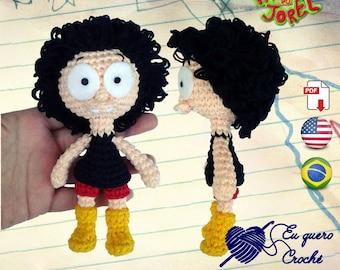Jorel's brother amigurumi pattern PDF ONLY, crochet