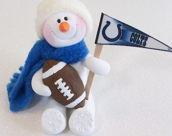 Indianapolis Colts: snowman ornament