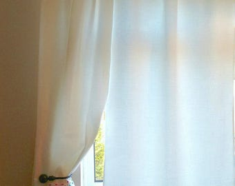 SALE**Multi coloured spotty curtains