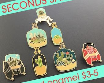 Seconds Sale - enamel pins