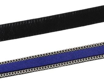 Sale - 20% 25 cm 10mm dark blue cord