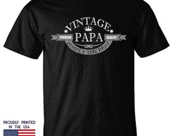 Vintage Papa Premium Quality simply the best Ttd1