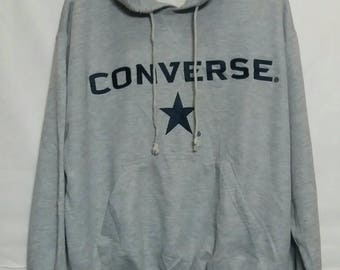 Converse embroidery spellout hoodies