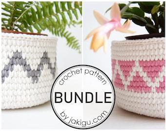 2+1 Crochet Pattern Sale - an Instant Crochet Pattern Collection