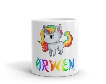 Arwen Unicorn Mug