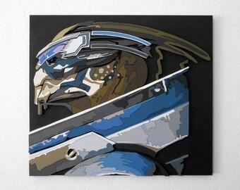 Garrus Vakarian, Mass Effect portrait