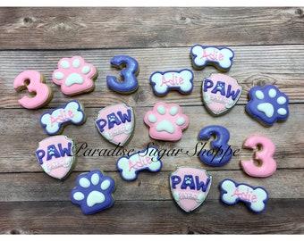 PAW Patrol MINI cookies - 3 Dozen MINIS