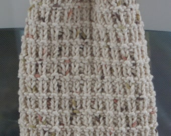Hand Knit Hanging Kitchen Towel Pattern