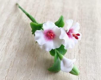 Miniature Flower,Miniature DIY Flower,Dollhouse Flower,Miniature Garden,Dollhouse Flower Clay,Flower,Mini Flower