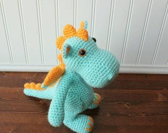Crochet Amigurumi Dragon : Amigurumi dragon etsy