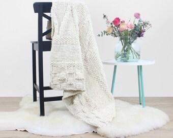 Make Your Own Bounty Throw Blanket Knitting Kit