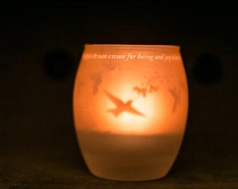 IamTra Candle - Hummingbirds