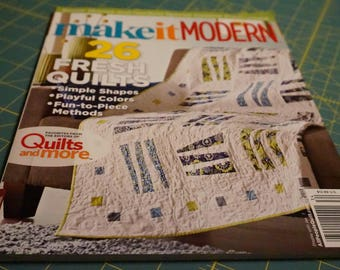 OUT OF PRINT: Make it Modern Magazine *Free with purchase, details below