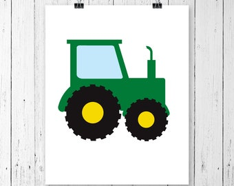 INSTANT DOWNLOAD! SVG, Tractor Svg, Tractor Monogram Svg, Svg Files, Cricut Cut Files, Silhouette Cut Files